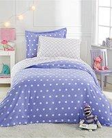 Martha Stewart Collection Flannel Dot Standard Sham