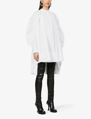 Alexander McQueen Poet Watt cotton mini dress