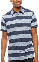 Lee Short-Sleeve Stripe Pocket Polo - Big & Tall