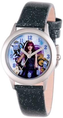 Disney Girl' Diney Decendant 2 Mal Tween tainle teel Watch - Black