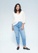 MANGO Flowy blouse