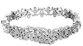Kate Spade Crystal Rose Bangle Bracelet