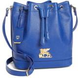 MCM Small RGB Leather Drawstring Bag
