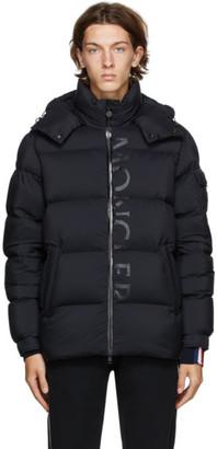 Moncler Black Down Maures Puffer Jacket