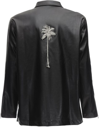 The Silted Company Faux Leather Sinner Jacket