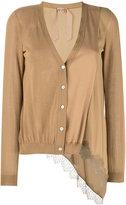 No.21 knitted cardigan - women - Silk/Cotton/Polyamide/Acetate - 44