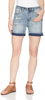 Tribal Women's Short with Released Hem