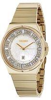 Seiko Women's SXDG14 Matrix Analog Display Japanese Quartz Gold Watch