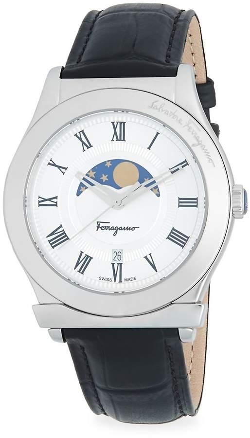 Salvatore Ferragamo Men's Quartz Stainless Steel 40MM Watch