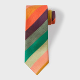 Paul Smith Men's 'Artist Stripe' Narrow Silk Tie