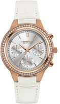 Caravelle NY Caravelle New York Women's Quartz Watch with Chronograph Quartz Leather 44L214