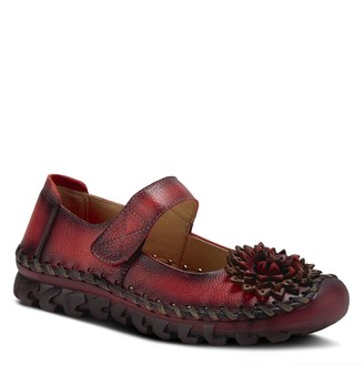 Spring Step L'Artiste by Leather Slip-ons - Hibiscae