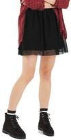 Topshop Women's Tulle Miniskirt