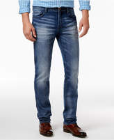 William Rast Men's Straight Fit Hixson Stretch Jeans