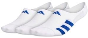adidas Men's 3-Pack Superlite Stripe Ii Super No-Show Socks