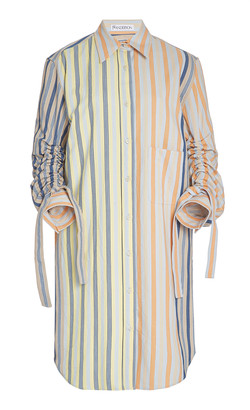 J.W.Anderson Gathered-Sleeve Shirt Dress