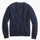 J.Crew Slim marled lambswool V-neck sweater