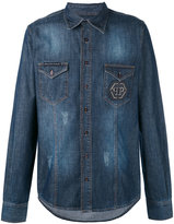 Philipp Plein denim shirt - men - Cotton - M
