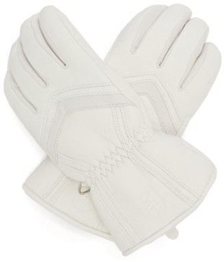 Toni Sailer Leyla Panelled Leather Gloves - White
