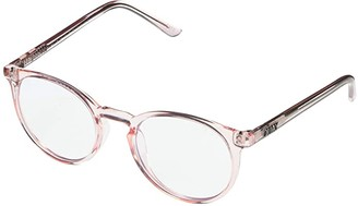 Quay Day Job (Pink/Clear Blue Light) Fashion Sunglasses