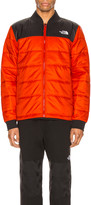 The North Face Pardee Jacket in Fiery Red & TNF Black | FWRD