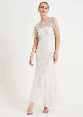 Phase Eight Leonora Sequin Bridal Dress