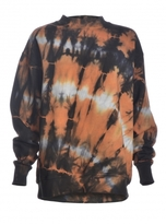 Aries OPEN BACK TIE-DYE SWEATSHIRT - last one