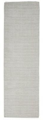 """Calvin Klein Newark Modern Striped Hand-Hooked Beige Area Rug Rug Size: Runner 2'3"""" x 7'6"""""""