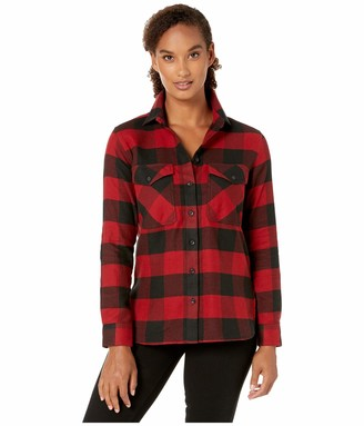 Pendleton Woolen Mills Pendleton Women's Elbow Patch Flannel Shirt