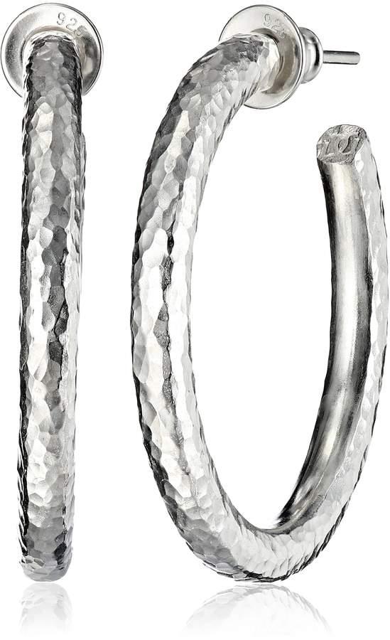 Gurhan Midnight Classic Hoop Earrings