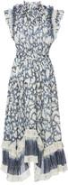 Ulla Johnson Amalia Floral-Print Cotton and Silk-Blend Midi Dress