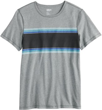 Urban Pipeline Men's Adaptive Chest-Striped Tee