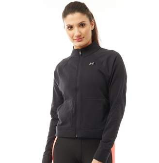 Under Armour Womens Favourite Terry Bomber Jacket Black