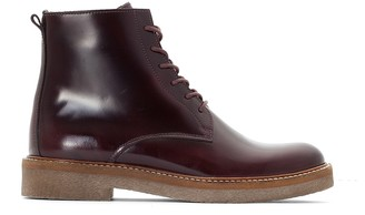 Kickers Maylie Leather Heeled Ankle Boots