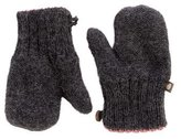Oeuf Girls' Baby Alpaca Knit Mittens