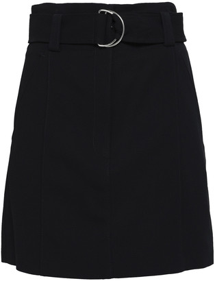 A.L.C. Bronx Belted Cady Mini Skirt