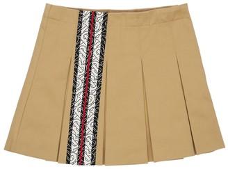 Burberry Printed Cotton Skirt