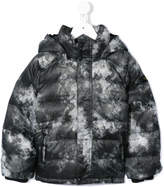 Finger In The Nose Snowscape padded coat