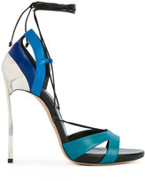 Casadei Techno Blade lace-up sandals