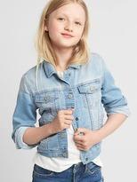 Gap Supersoft knit denim jacket