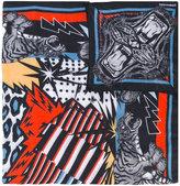 DSQUARED2 tiger print foulard - men - Modal - One Size