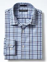 Banana Republic Grant Slim-Fit Supima® Cotton Gingham Shirt