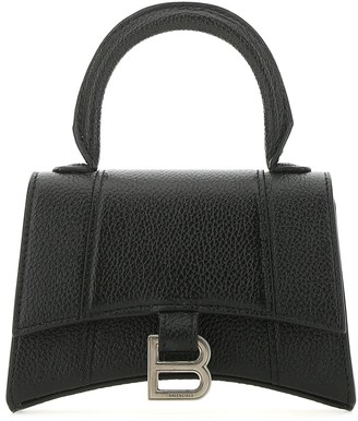 Balenciaga Hourglass Mini Top Handle Shoulder Bag