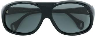 Gucci Oversized Aviator-Style Sunglasses