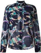 MSGM printed blouse