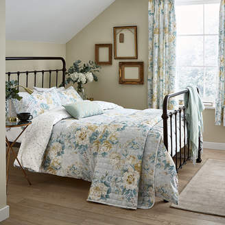 Sanderson Giselle Duvet Set - Duck Egg - Super King
