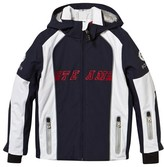 Bogner Navy and White Dean Team Ski Jacket