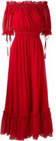 Alexander McQueen off-the-shoulder gown