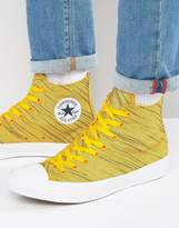 Converse Chuck Taylor All Star Ii Plimsoll In Yellow