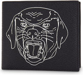 Givenchy Rottweiler Leather Billfold Wallet